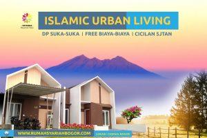 rumah syariah view gn salak