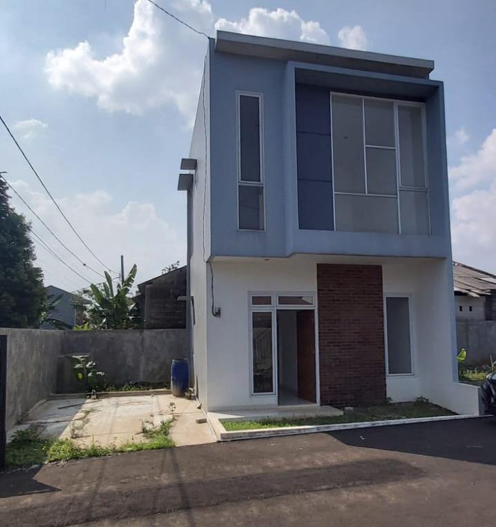 contoh rumah 2 lantai kencana hills cilebut