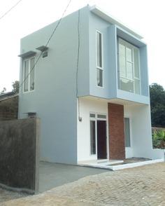 contoh rumah kencana hills cilebut